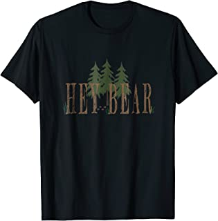 Hey bear outdoors T-shirt