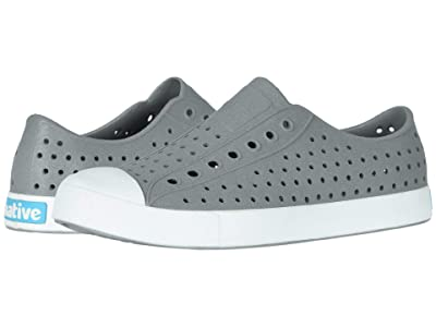 Native Shoes Jefferson Reflective (Pigeon Reflective/Shell White) Athletic Shoes