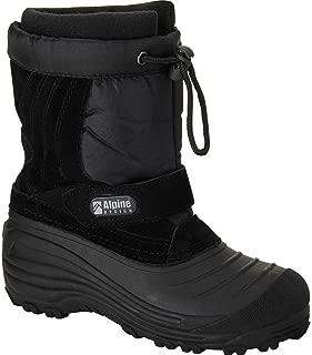 Alpine Design Boys' Snowcrusher Winter Boots - Size 12 Black