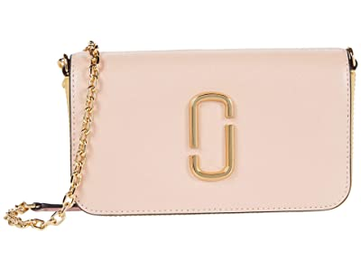 Marc Jacobs Snapshot Crossbody w/ Chain (New Rose Multi) Cross Body Handbags