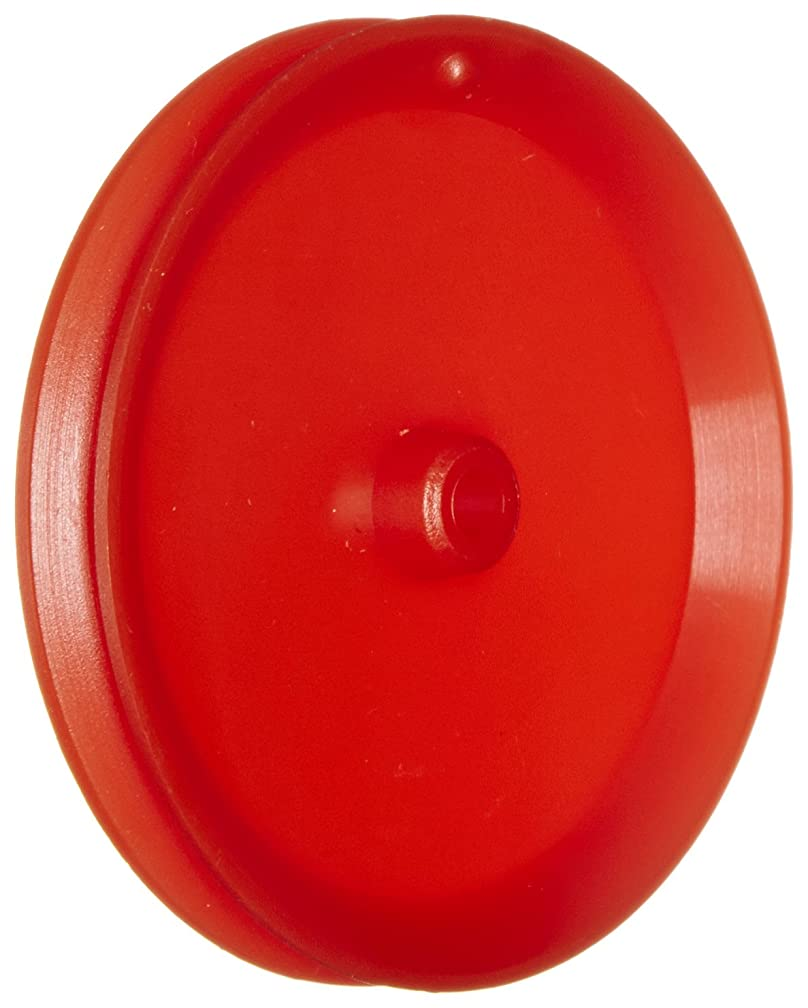 Ajax Scientific Plastic Loose Pulley, 50mm Diameter, 4mm Center Hole Diameter (Pack of 10)