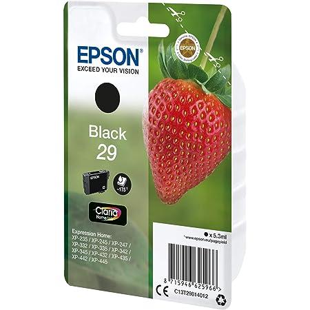 Epson Original Epson Expression Home Xp 342 29 C13t29814012 Tintenpatrone Schwarz 175 Seiten 5 3ml Bürobedarf Schreibwaren