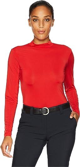 Sunsense® Mandarin Collar Layering Shirt