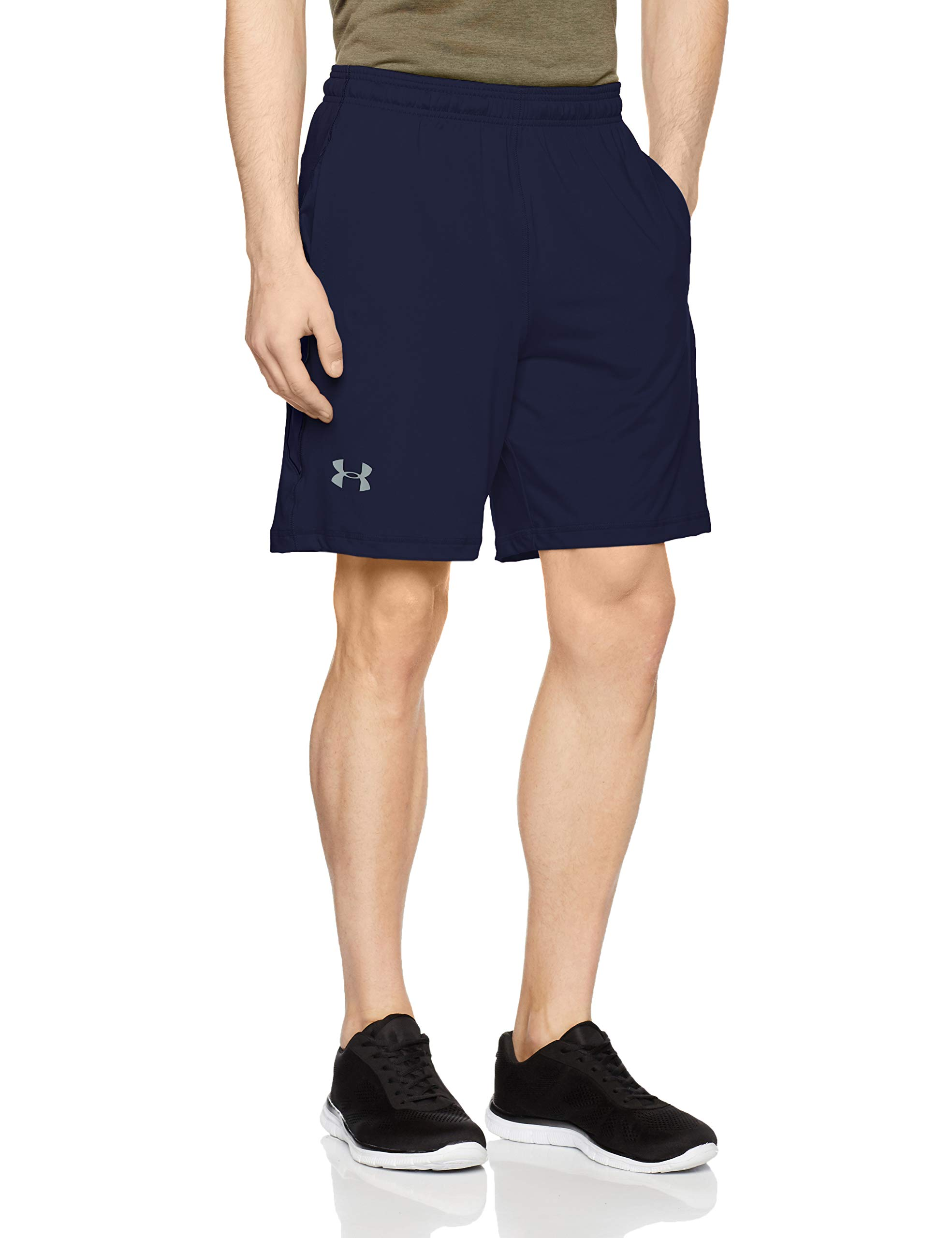 Loose Sports Shorts with 4-Way Stretch Fabric Under Armour Mens Ua Raid 8 Shorts Ultralight /& Fast-Drying Workout Shorts for Men