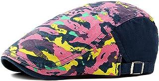 18d2a808 2019 Newsboy Caps Cabbie Gatsby Graffiti Bright Forward Hat Men's Vintage  Beret Hat Adjustable