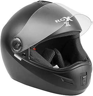 Steelbird SB-39 Rox Black with plain visor,600mm