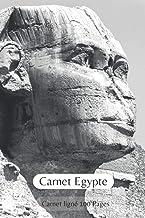 Carnet Egypte: Cahier Ligné à L'Américaine I Idée Cadeau pour les Passionnés (French Edition)