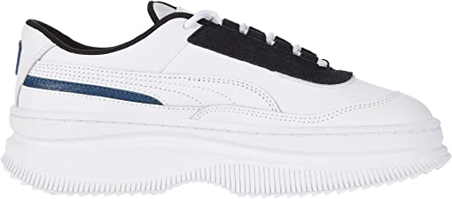Puma White/Puma Black/Dark Denim