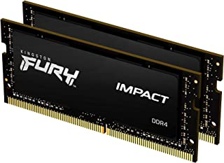 Kingston FURY Impact 16 GB (2x8 GB) 2666 MHz DDR4 CL15 Laptop Memory Kit van 2 KF426S15IBK2/16