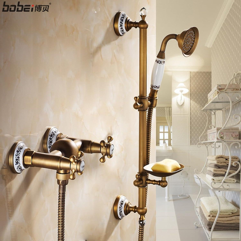 HCP Antique bathroom shower sets Bathtub faucet Continental simple cold shower-A