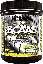 GET DIESEL Dieselade All Natural Vegan Friendly BCAAs For Men and Women - 45 Servings 14.3 OZ (Pineapple Breeze)