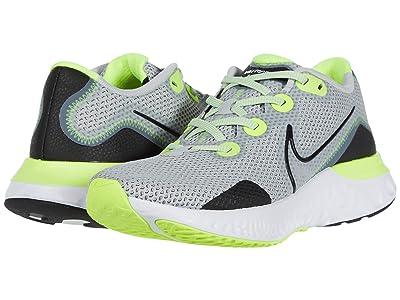 Nike Renew Run (Grey Fog/Black/White/Volt) Men