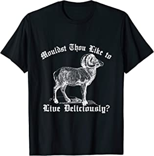 live deliciously shirt