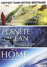 Coffret Yann Arthus-Bertrand - Planète Océan + La soif du monde + Home