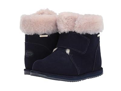EMU Australia Kids Sommers (Toddler/Little Kid/Big Kid) (Midnight) Girls Shoes