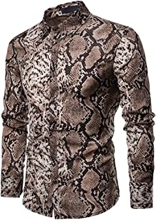 Best snakeskin shirt mens Reviews
