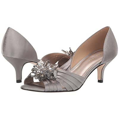 Pelle Moda Luna (Pewter Satin) Women