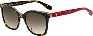 Kate Spade KIYA/S 2VM Havana/Pattern KIYA/S Square Sunglasses Lens Category 2