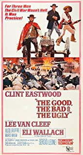 Posterazzi The Good The Bad And The Ugly Clint Eastwood Lee Van Cleef Eli Wallach 1966 Art Movie Masterprint Poster Print, (11 x 17)