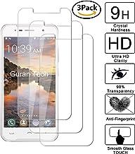 Guran [3 Unidades] Protector de Pantalla Vidrio Cristal Templado para Homtom HT37 / HT37 Pro Smartphone Glass Vidrio Templado Film (9H, 2.5D Edge, 0.3mm)