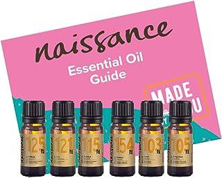 Naissance Top 6 beliebteste ätherische Zitrusöle Duftset - 100% rein, natürlich, tierversuchsfrei, vegan & unverdünnt - Orange süß, Zitrone, Mandarine, Grapefruit, Limette und Petitgrain