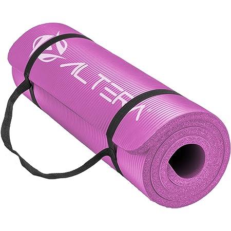 Altera Tapete para Hacer Ejercicios Yoga Pilates Rehabilitacion Gym Espesor 10 mm