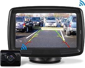 AUTO-VOX Caméra de Recul Sans Fil – Caméra de Voiture Numérique avec Bonne..