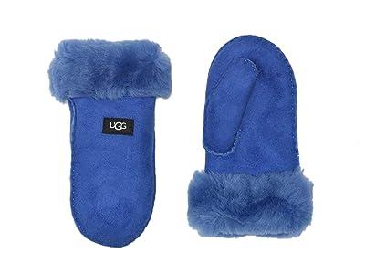 UGG Kids Sheepskin Mitten (Little Kid/Big Kid) (Deep Perwinkle) Extreme Cold Weather Gloves