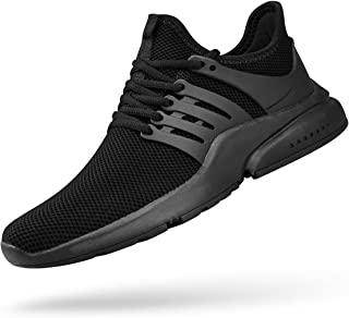 ZOCAVIA Mens Running Shoes Non Slip Tennis Shoes Mesh Lightweight Gym Athletic Sports Fashion Sneakers