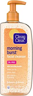 Clean & Clear Morning Burst Orange Facial Cleanser 240mL, 0.26 kg