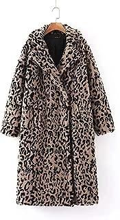 Surprise S Winter Leopard Coatvintage Women Long Coat Warm Ry Jacket Streetwear