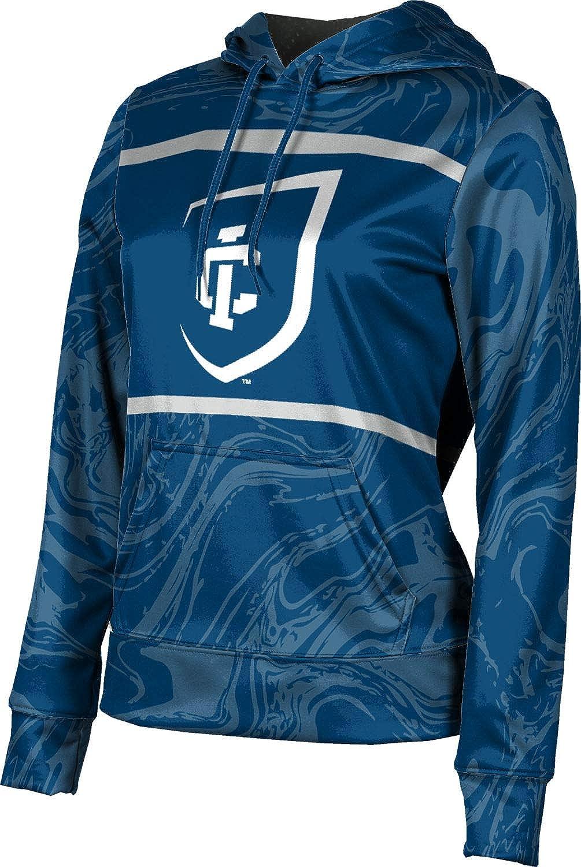 ProSphere Ithaca College Girls' Pullover Hoodie, School Spirit Sweatshirt (Ripple)