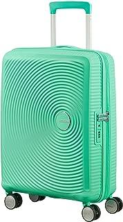 American Tourister - Soundbox Spinner Expandable, 55cm, 35,5/41 L - 2,6 KG, Green (Deep Mint)