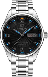 Men's Wrist Watches Automatic Mechanical with Luminous Tritium
