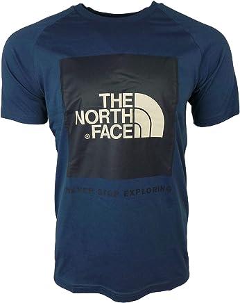 317dbdf3b8 The North Face S/S RAGLAN BOX T-Shirt for MEN Blue XL