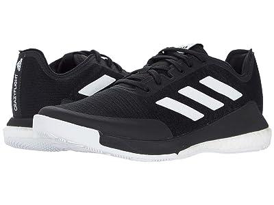 adidas Crazyflight (Black/White/Black) Women