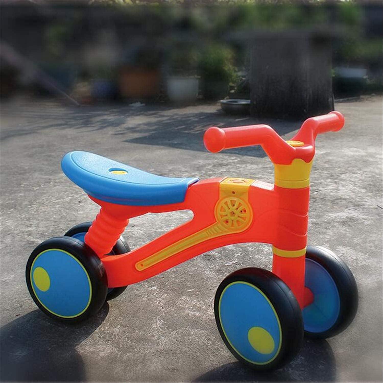 Triciclo Trike Balance DE NIÑOS Scooter Educación temprana Multifunción Niño Niño Niño 1-3 AÑOS DE Coche Educativo (Color: B) (Color : A)