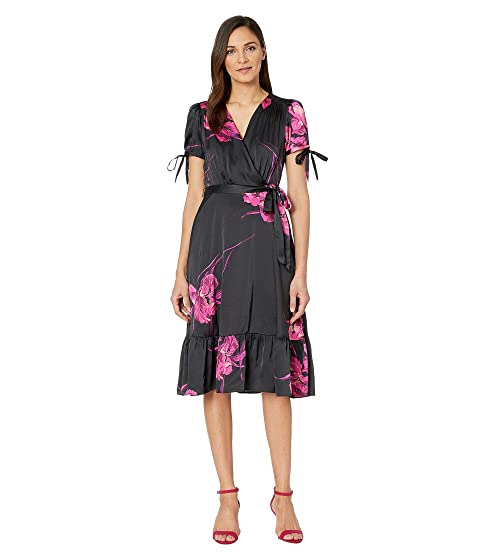 c8bc593fa58 Betsey Johnson Floral Faux Wrap Dress at 6pm