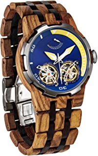Best automatic wood watch Reviews