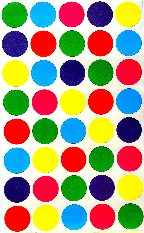 Color Coding Labels Limited time cheap sale ¾ inch 6 New arrival - Colors Blue Combination Purpl
