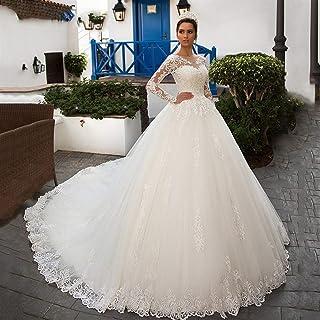 mylyfu Elegante Semplicità Abito da Sposa Sexy Manica Lunga Danza Abito da Sposa Matrimonio Romantico Tulle Abito da Sposa...