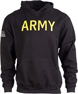 Army PT Style Hoodie | U.S. Military Training Infantry Workout Fleece Hoody Sweatshirt