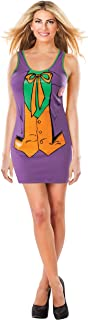 Rubie's DC Comics Justice League Superhero Style Adult Dress with Cape The Joker, Purple, Medium Costume
