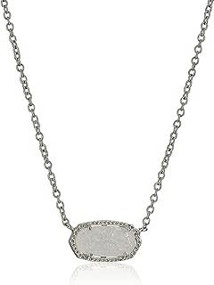 Kendra Scott Signature Elisa Silver Plated Necklace