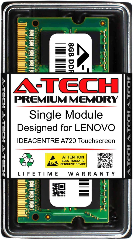 A-Tech 8GB RAM for Lenovo Touchscreen DDR3 IDEACENTRE Super beauty product restock quality top A720 Brand Cheap Sale Venue 160