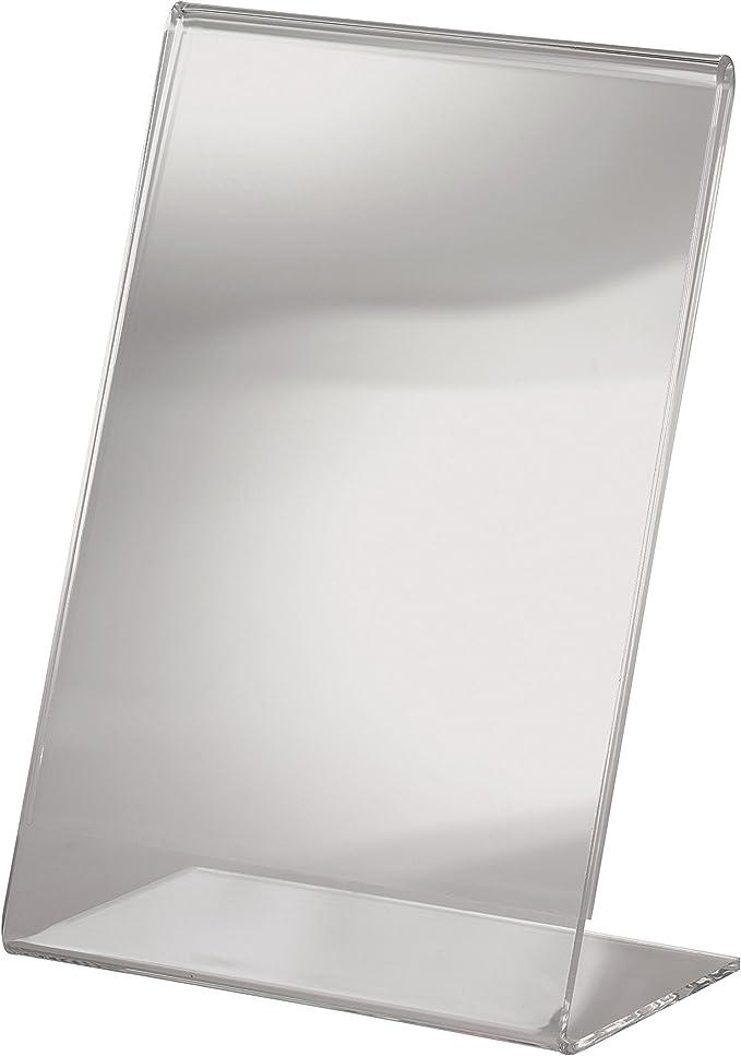 953 opinioni per SIGEL TA214 Porta-avvisi da tavolo / Porta-brochure da banco, con base a L,
