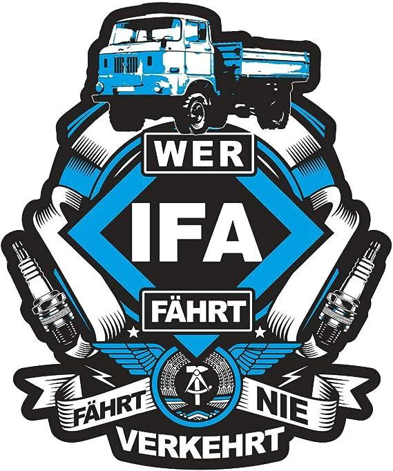 Aufkleber W50 Ifa Wetterfest Auto