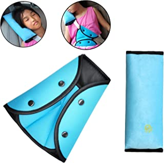 Timorn car Seat Belt Safety Adjuster, Seat Belt Shoulder Pads, SeatBelt Cover, car Seatbelt Pillow cover for kids