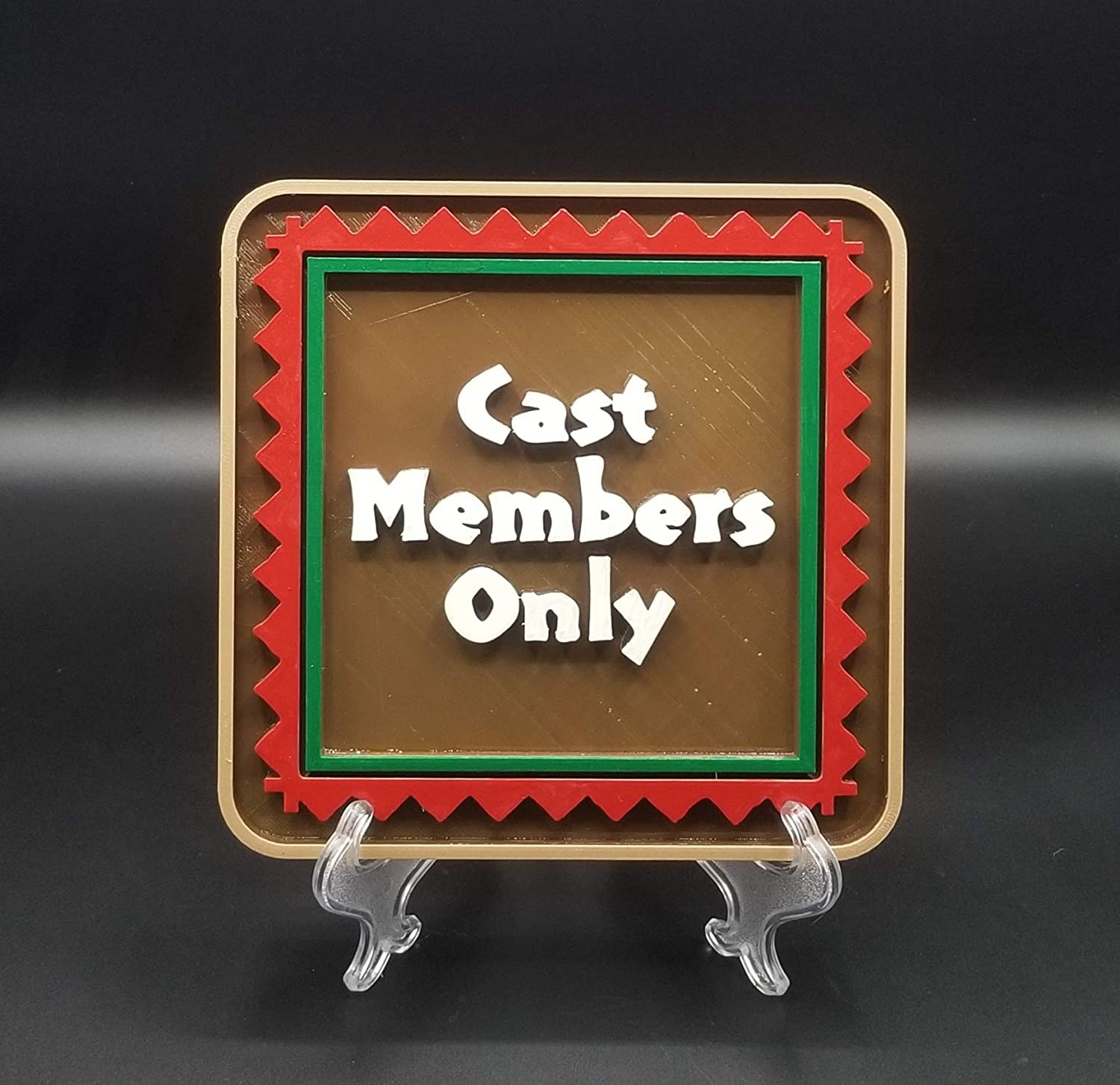 Ye Olde Proppe Shoppe LLC Inexpensive Cast Plaque Members - Sign Polyne Only Max 85% OFF