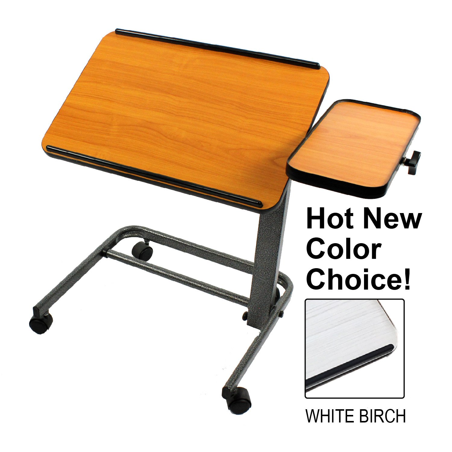 Platinum Health PHT2500 Acrobat Professional Overbed or Laptop Table with Tilting and Height Adjustable Casters uhvvhn9844242
